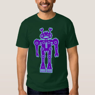 Robot Mk I - (Purple & Lt Blue) Shirt