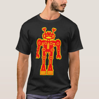 Robot Mk I - (Red and Yellow) T-Shirt