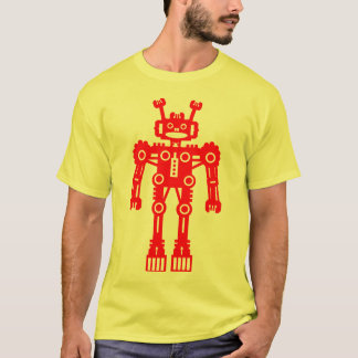 Robot Mk I - (Red) - Customized T-Shirt
