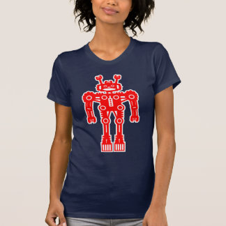 Robot Mk I - (Red) - Customized Tee Shirts