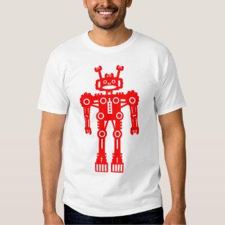 Robot Mk I - (Red) Tee Shirts
