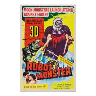 Robot Monster Poster