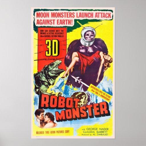 Robot Monster Poster