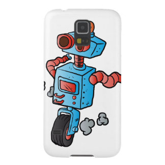 robot on wheel . cases for galaxy s5