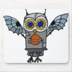 Robot Owl Mouse Mat