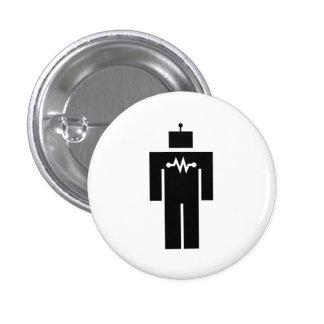 Robot Pictogram Button