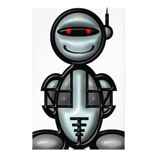 Robot (plain) customised stationery