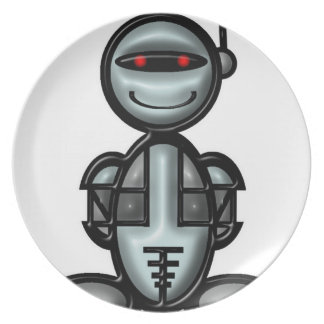Robot (plain) plate