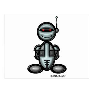 Robot (plain) postcard