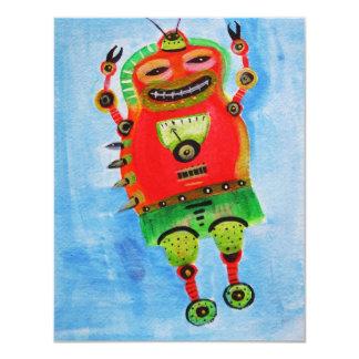 ROBOT Pop ART Card