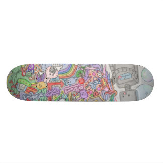 Robot Skate Board Deck
