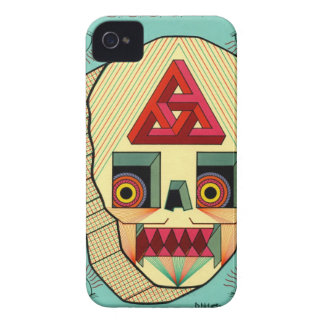 robot skull Case-Mate iPhone 4 cases