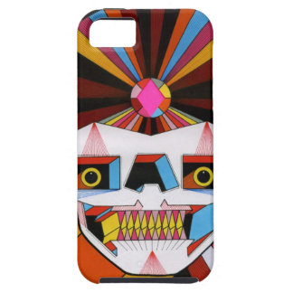 robot skull iPhone 5 covers