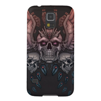 Robot Skull + Wings Galaxy S5 Covers