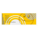 Robot Smiley Double-Sided Mini Business Cards (Pack Of 20)