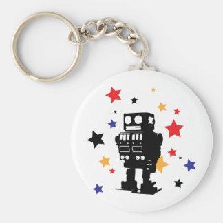 Robot Star Key Ring
