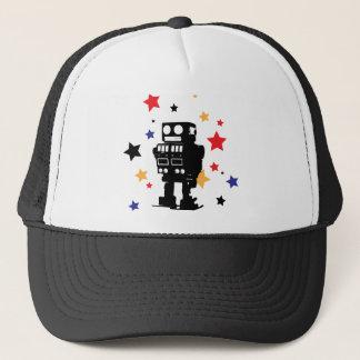 Robot Star Trucker Hat