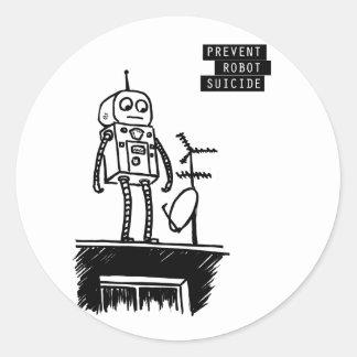 Robot Suicide Sticker