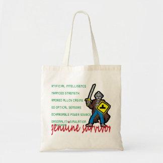 Robot Survivor Canvas Bag