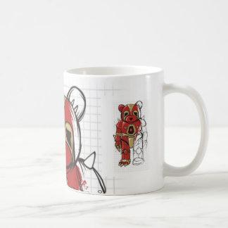 Robot Teddy Coffee Mug