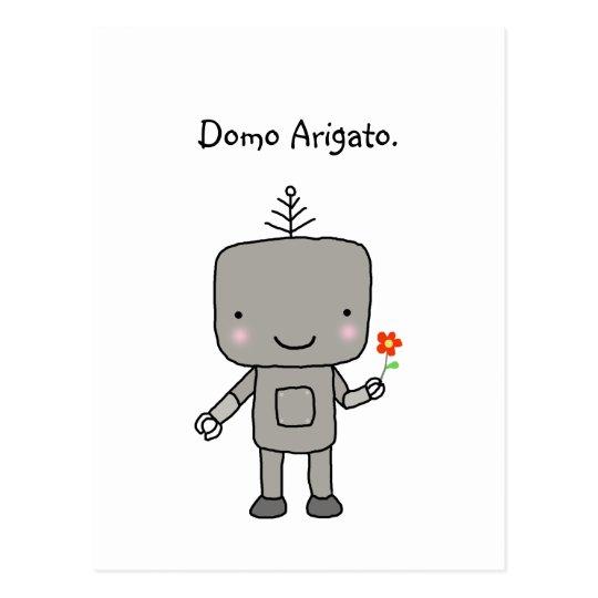Robot Thank you Domo Arigato Cute Funny Geek