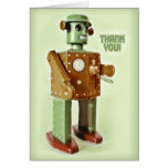 ROBOT THANKS GREETING CARDS