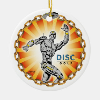 Robot Thrower #2 Christmas Ornament