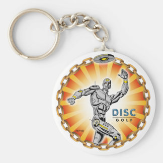 Robot Thrower #2 Key Ring