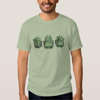 Robot Trio Tees