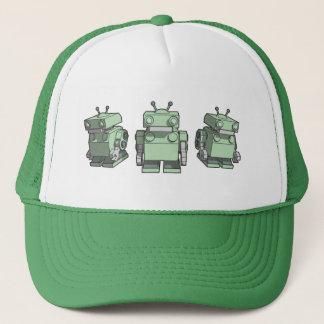 Robot Trio Trucker Hat