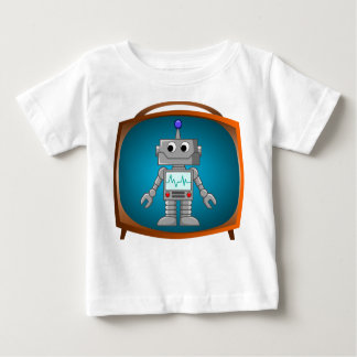 Robot TV Baby T-Shirt