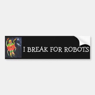 Robot Wars Bumper Stickers
