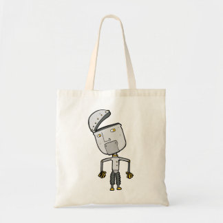 Robot With An Open Head Tote Bag