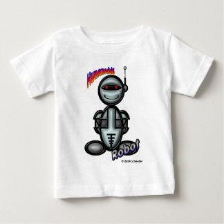 Robot (with logos) baby T-Shirt