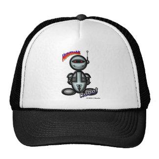 Robot (with logos) cap
