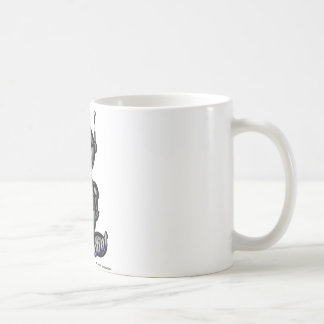 Robot (with logos) coffee mug