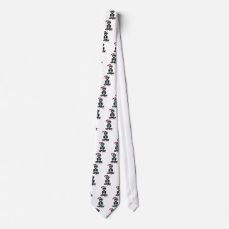 Robot (with logos) tie