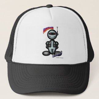 Robot (with logos) trucker hat