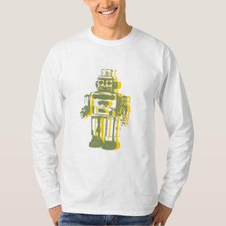 robot_yellow, robot_green t shirt