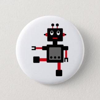 RobotFutuP10 6 Cm Round Badge