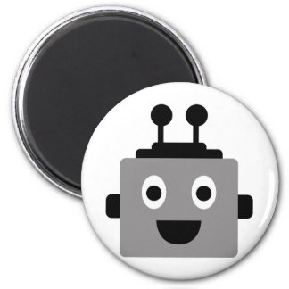 RobotFutuP5 6 Cm Round Magnet