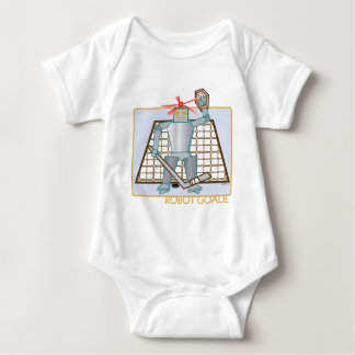 robotgoalie baby bodysuit