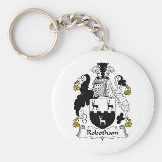 Robotham Family Crest Key Chain