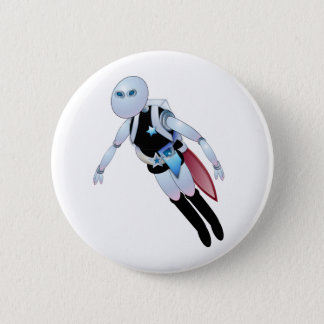 Robotic Cops 2099 6 Cm Round Badge