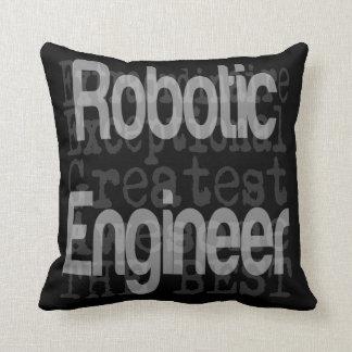 Robotic Engineer Extraordinaire Cushion