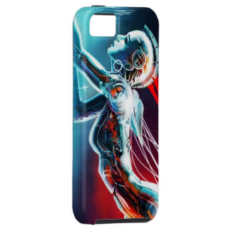 robotic girl iphone case 5/5s,vibe
