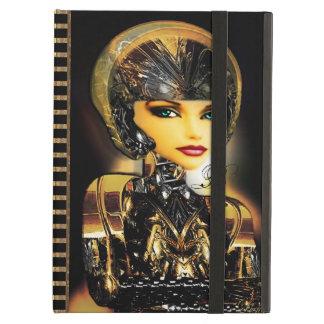 Robotica Monogram Cyborg Babe iPad Air Covers
