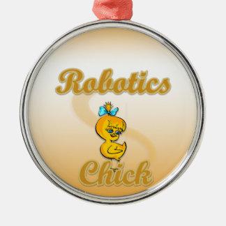 Robotics Chick Christmas Ornament