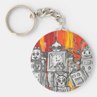 robots 7 Key ring