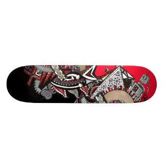 Robots and Rectangles 20 Cm Skateboard Deck